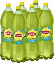 Характеристрики и размер товара Lipton Ice Tea Лайм-Мята холодный чай, 6 штук по 2 л