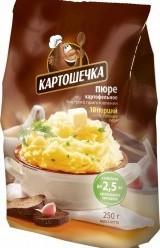 Характеристрики и размер товара Картошечка Пюре картофельное, 250 г
