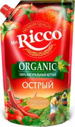 Характеристрики и размер товара Соус Mr.Ricco Pomodoro Speciale кетчуп острый, 350 мл