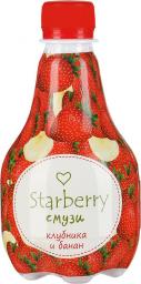 Характеристрики и размер товара Starberry смузи клубника, банан, 0,375 л
