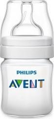 Характеристрики и размер товара Бутылочка Philips Avent Classic+ из полипропилена 125мл 0+мес