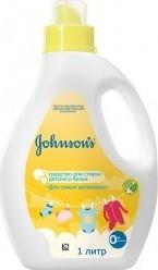 Характеристрики и размер товара Средство для стирки детского белья Johnson