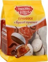 Характеристрики и размер товара Пряники Яшкино с вареной сгущенкой, 350г