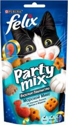Характеристрики и размер товара Лакомство для кошек Felix Party Mix