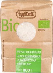 Характеристрики и размер товара Zito Natura Bio Мука пшеничная цельнозерновая, 800 г