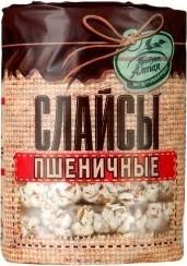 Характеристрики и размер товара Слайсы Продукт Алтая пшеничные 90г