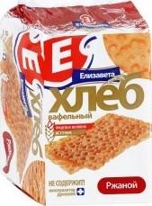Характеристрики и размер товара Хлеб Елизавета вафельный ржаной 75г