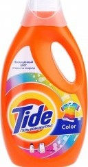 Характеристрики и размер товара Стиральный порошок Tide Color жидкий, 1,820л