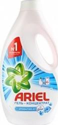 Характеристрики и размер товара Cтиральный порошок Ariel Touch of Lenor Fresh жидкий 1,95л