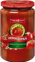 Характеристрики и размер товара Паста Помидорка томатная, 500г