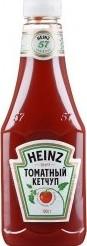 Характеристрики и размер товара Кетчуп Heinz томатный 1кг