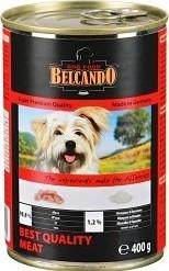 Характеристрики и размер товара Корм для собак Belcando отборное мясо, 400г ж/б