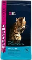 Характеристрики и размер товара Сухой корм для пожилых кошек Eukanuba Cat с домашней птицей 2кг