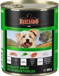 Характеристрики и размер товара Корм для собак Belcando мясо с овощами 800г ж/б