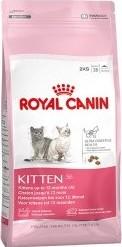 Характеристрики и размер товара Сухой корм для котят Royal Canin Kitten до 12 месяцев 2кг