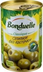 Характеристрики и размер товара Оливки Bonduelle без косточки, 300г