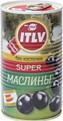 Характеристрики и размер товара Маслины ITLV Super без косточки 350г
