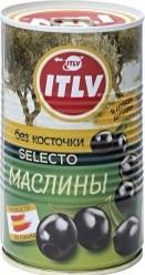 Характеристрики и размер товара Маслины ITLV Selecto без косточки 350г