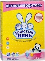 Характеристрики и размер товара Пятновыводитель Ушастый нянь для детского белья, 500 г