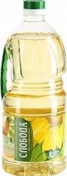 Характеристрики и размер товара Масло Слобода подсолнечное рафинированное дезодорированное 1,8л