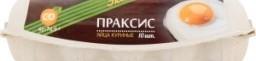 Характеристрики и размер товара Яйцо Праксис Экстра куриное C0 10шт, упак