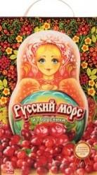 Характеристрики и размер товара Морс Меркурий Русский морс из брусники, 3 л