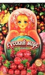 Характеристрики и размер товара Морс Меркурий Русский морс из клюквы, 3 л