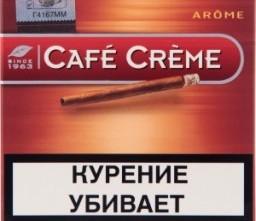 Характеристрики и размер товара Сигариллы Cafe Creme Arome 10шт, упак