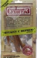 Характеристрики и размер товара Путассу с перцем сушеная Сухогруз м/у 36г