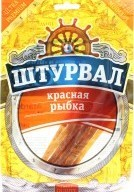 Характеристрики и размер товара Красная рыбка солено-сушеная Штурвал м/у 36г