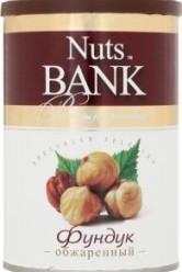 Характеристрики и размер товара Фундук Nuts Bank обжаренный, 200 г