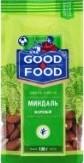 Характеристрики и размер товара Миндаль жареный Good Food м/у 130г