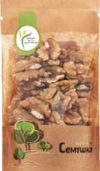 Характеристрики и размер товара Грецкий орех Семушка, 110 г