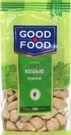 Характеристрики и размер товара Кешью сушеный Good Food м/у 130г