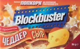 Характеристрики и размер товара Попкорн Blockbuster с ароматом чеддер сыр, 99 г