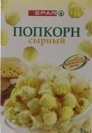 Характеристрики и размер товара Попкорн сырный для СВЧ SPAR к/у 85г
