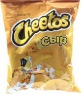 Характеристрики и размер товара Палочки кукурузные Сыр Cheetos м/у 55г