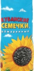 Характеристрики и размер товара Семена подсолнечника Кубанские семечки обжаренные, 300 г