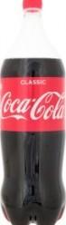 Характеристрики и размер товара Напиток безалкогольный сильногазированный Coca-Cola п/бут 2л