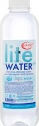 Характеристрики и размер товара Вода питьевая Lite Water негазированная артезианская, 800 мл