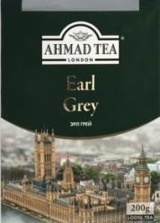 Характеристрики и размер товара Чай Ahmad Tea Earl Grey черный байховый листовой со вкусом и ароматом бергамота, 200 г