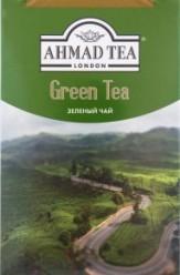 Характеристрики и размер товара Чай зеленый Ahmad Tea листовой, 100 г