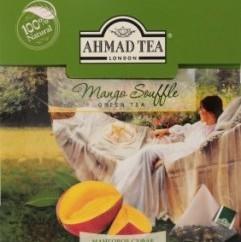 Характеристрики и размер товара Чай Ahmad Tea Mango Souffle зеленый 20пак, упак