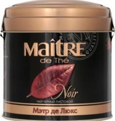 Характеристрики и размер товара Чай Maitre de The Noir черный листовой, 100 г