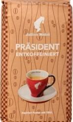 Характеристрики и размер товара Кофе Julius Meinl Prasident молотый без кофеина, 250 г