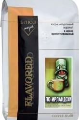 Характеристрики и размер товара Кофе Coffee Blues Блюз Ароматизированный По-ирландски зерновой 1кг