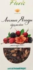 Характеристрики и размер товара Напиток чайный Floris Лесные ягоды крымские, 80 г