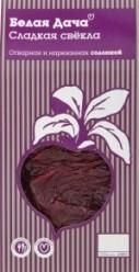 Характеристрики и размер товара Готовое блюдо Белая дача Свекла отварная и нарезанная соломкой, 500 г