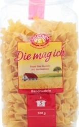Характеристрики и размер товара Макароны 3 Glocken Die Mag Ich Bandnudeln с яйцом, 500 г