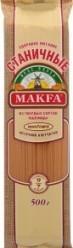 Характеристрики и размер товара Макаронные изделия Вермишель длинная Станичная Makfa м/у 500г